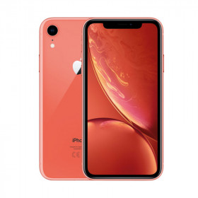 iPhone XR SIN FACE ID Coral 256Go Reacondicionado