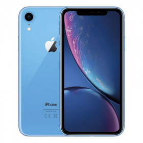 iPhone XR SIN FACE ID Azul 64Go Reacondicionado