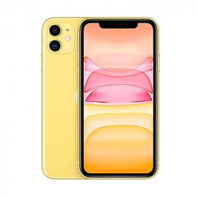 iPhone 11 SIN FACE ID Amarillo 256Go Reacondicionado