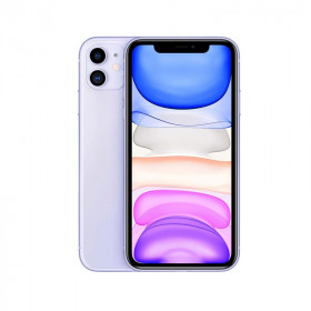 iPhone 11 SIN FACE ID Malva Orquídea 128Go Reacondicionado