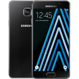 Samsung Galaxy A3 (2016) Negro 16Go Reacondicionado